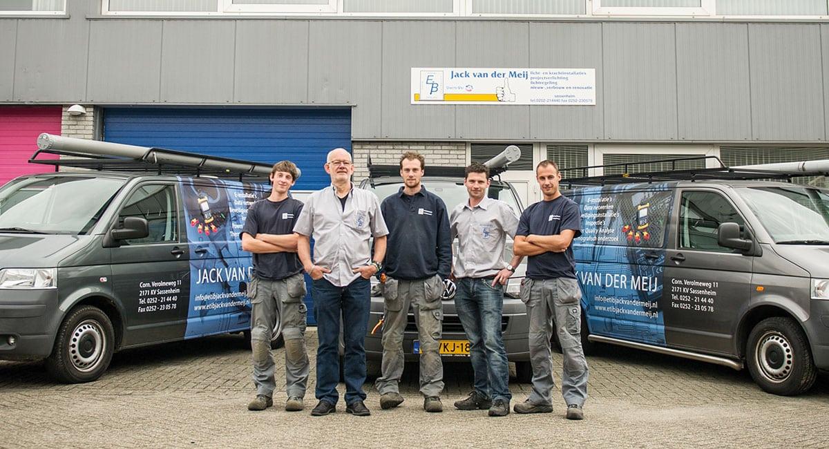 Sterkste Schakel genomineerde: Elektrotechnisch Installatiebureau Jack van der Meij