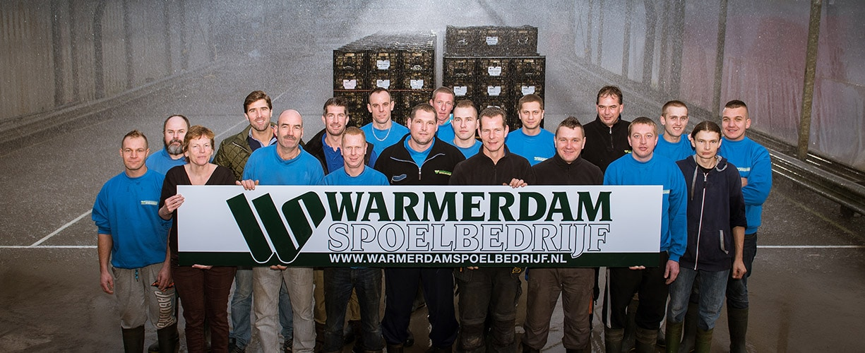 Sterkste Schakel genomineerde: Warmerdam Spoelbedrijf