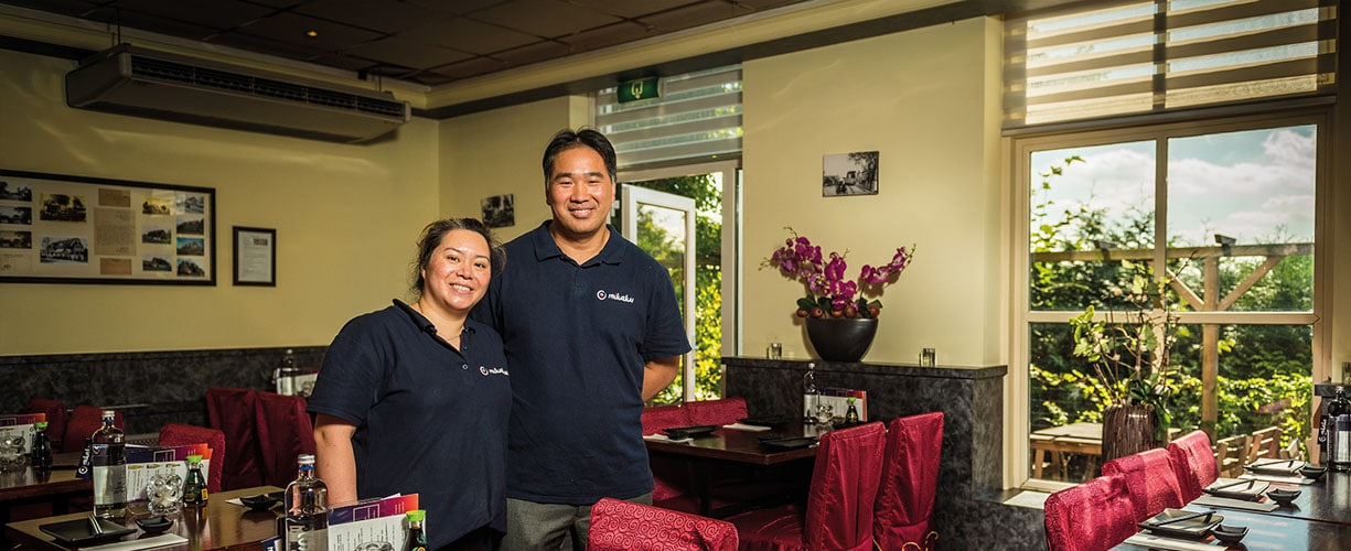 Sterkste Schakel genomineerde: Sushi- en grillrestaurant Mikaku