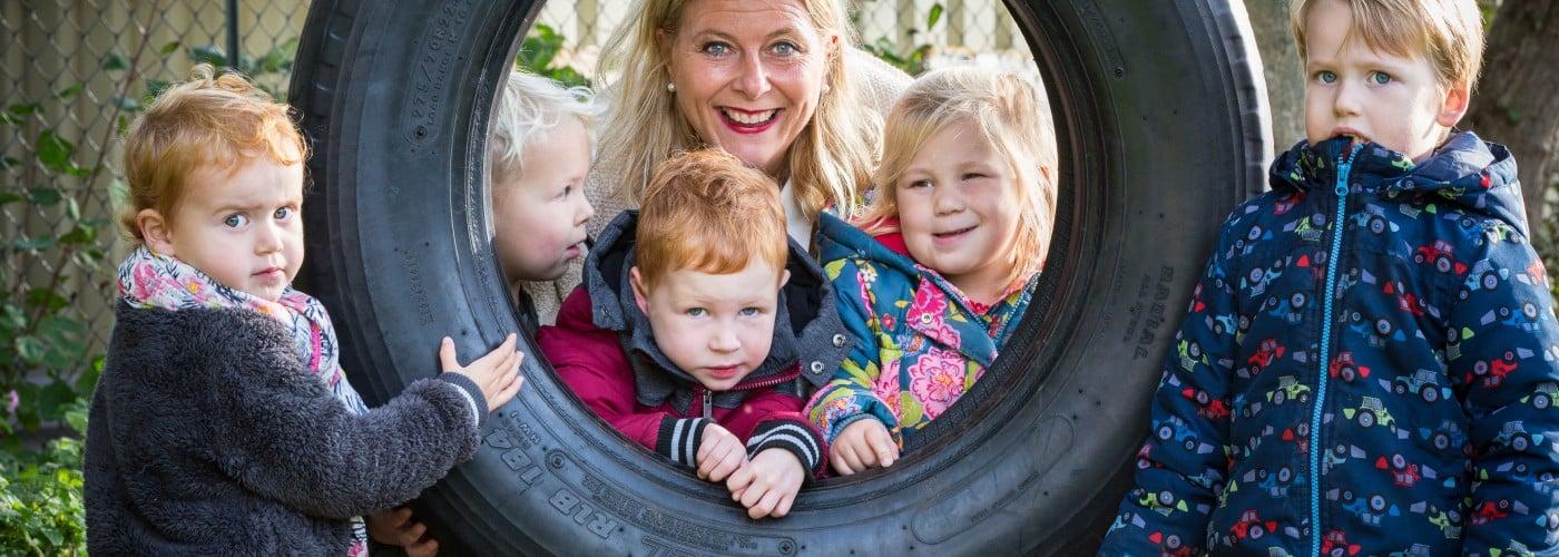 Sterkste Schakel genomineerde: Kinderdagverblijf De Kindervilla Wereld