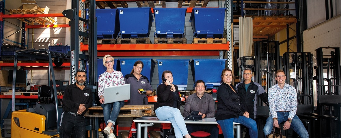 Sterkste Schakel genomineerde: Koers Heftruck Service/Tramag