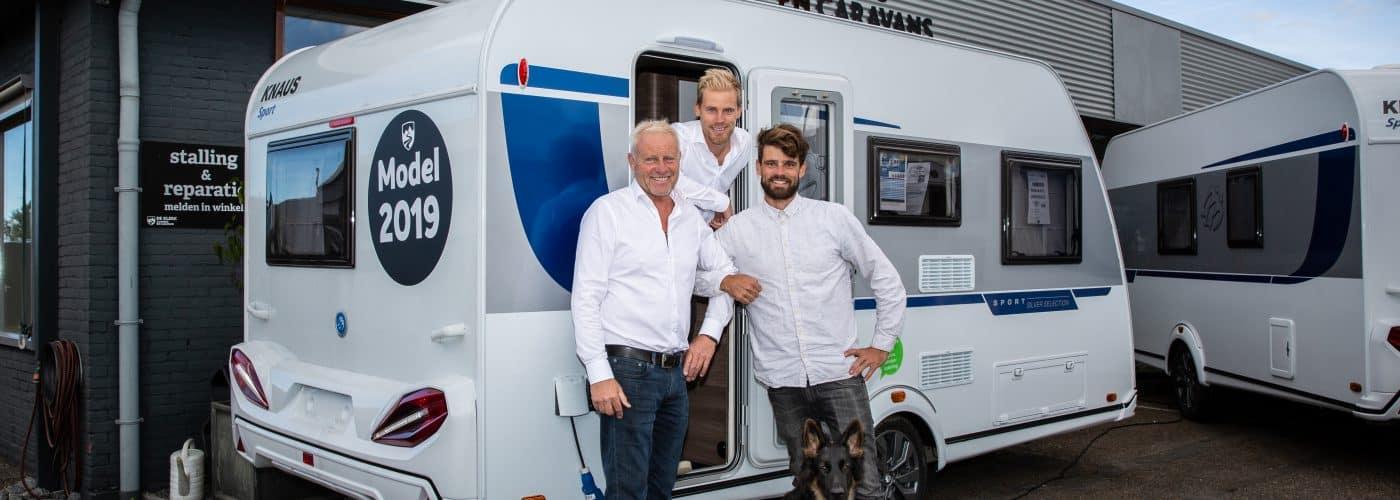 Sterkste Schakel genomineerde: De Klerk campers en caravans