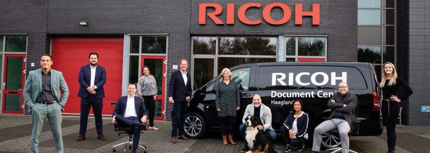 Sterkste Schakel genomineerde: Ricoh Document Center Haaglanden