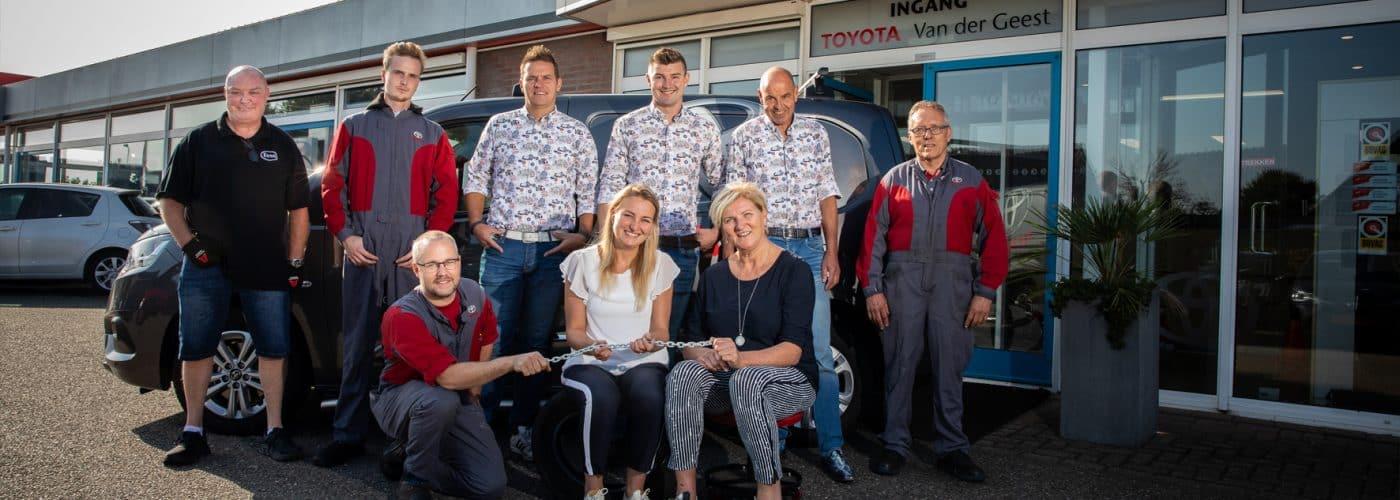 Sterkste Schakel genomineerde: Toyota van der Geest
