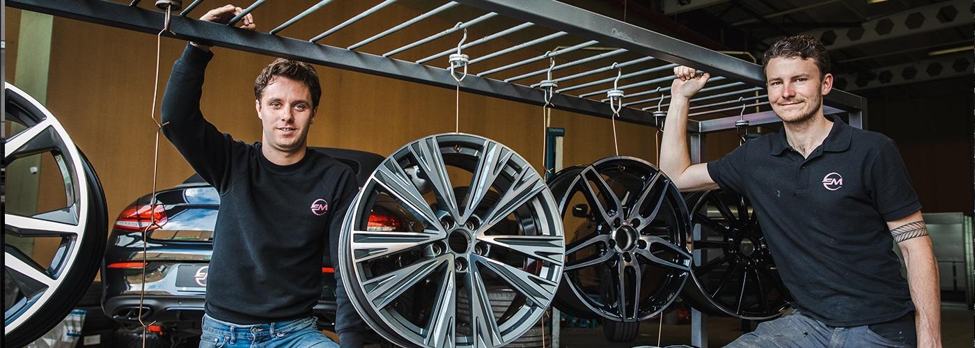 Sterkste Schakel genomineerde: EM Wheels